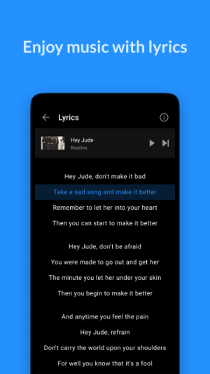 Android Lark Player - Free MP3 Music & Youtube Player Screen 4