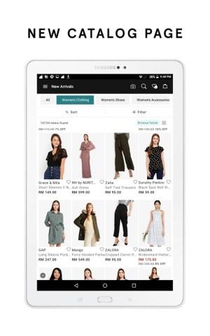 ZALORA - Fashion Shopping 8.9.1 Screen 4