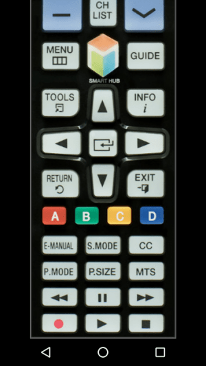 Android TV Remote Control for Samsung (IR - infrared) Screen 3