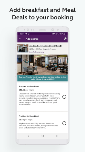 Premier Inn Hotels 3.22.1 Screen 3