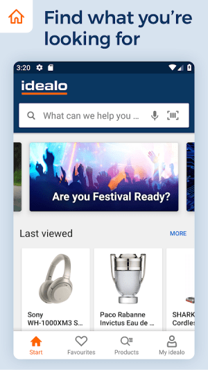 idealo - Price Comparison & Mobile Shopping App 11.2.3 Screen 1