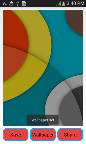 Android Material Design Wall Screen 3