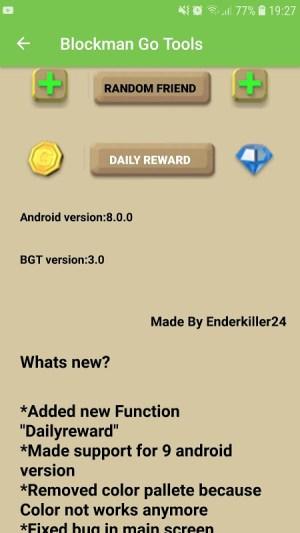 Android Blockman Go Tools Screen 4