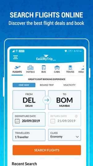 EaseMyTrip – Cheap Flights, Hotels, Bus & Holidays 3.10.2 Screen 6