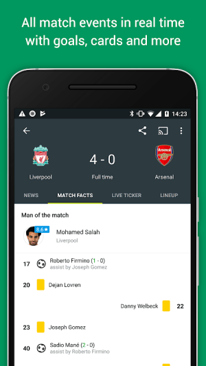 FotMob Pro - Live Football Scores 109.0.7275.20191107 Screen 4