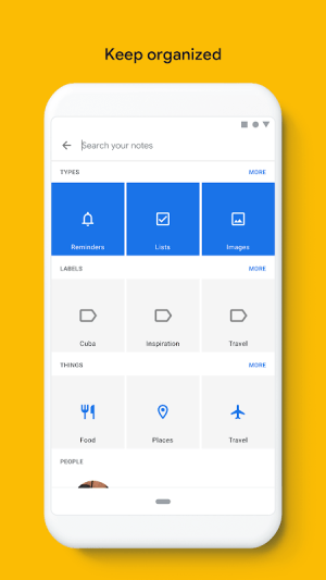 Google Keep - notes and lists 5.20.141.05.37 Screen 7