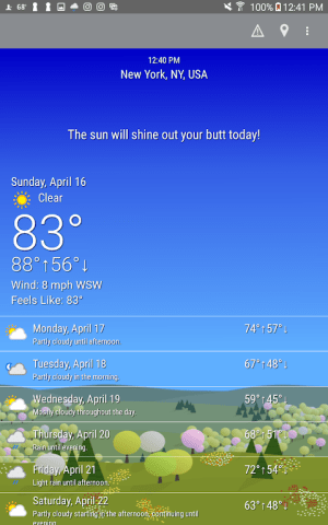 What The Forecast?!! 3.35.3.207 Screen 8