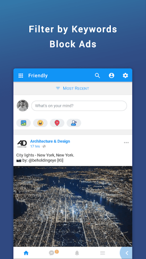 Friendly for Facebook 4.4.05 Screen 1