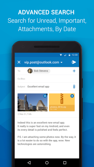 Email App for Outlook & others 5.4.0.20321 Screen 2