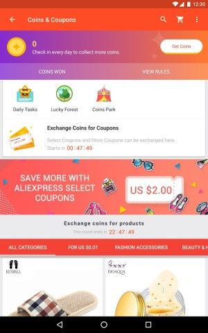Android AliExpress - Smarter Shopping, Better Living Screen 5