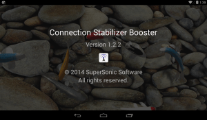 Connection Stabilizer Booster 1.9.1 Screen 13
