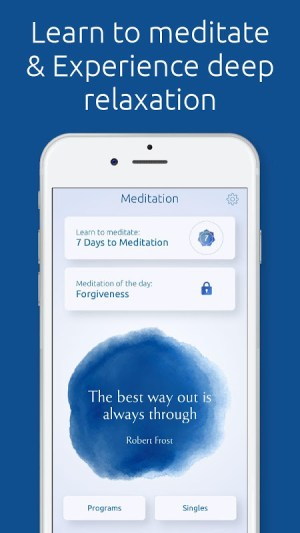 Meditation & Relaxation: Guided Meditation 3.0 Screen 1