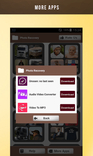 Deleted Photo Recovery 1.1.9 Screen 4