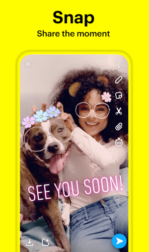 Snapchat 10.78.5.0 Beta Screen 3