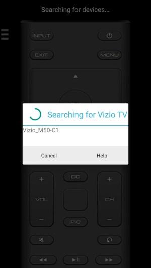 Android VizControl - TV Remote Control for Vizio TV Screen 2