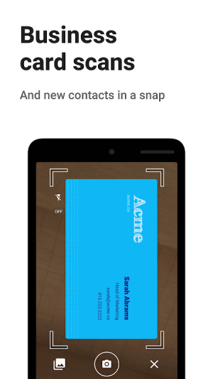 Android Contacts+ Screen 4