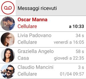 Iliad Visual Voicemail 3.1.8 Screen 3