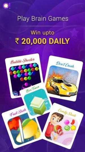Android Qureka: Live Quiz Show & Brain Games | Win Cash Screen 4