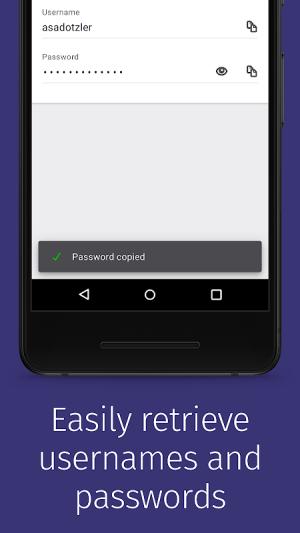 Firefox Lockwise 4.0.0 Screen 3