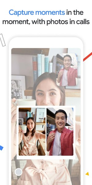 Google Duo 148.0.396708032.duo.android_20210822.10_p4 Screen 1