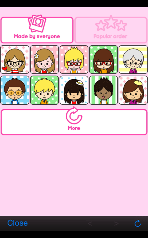 Portrait shop - cute 1.2 Screen 5