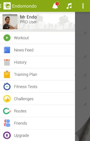 Endomondo Sports Tracker PRO 10.7.1 Screen 9