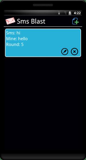 SMS Blast 1.45 Screen 3