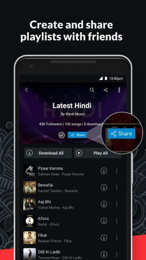Wynk Music- New MP3 Hindi Tamil Song & Podcast App 3.14.2.0 Screen 6