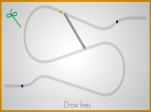 Lines - Physics Drawing Puzzle 1.2.3 Screen 14