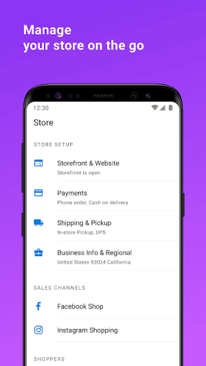 Ecwid Ecommerce - Sell Online with Store Builder 4.4.9 Screen 4