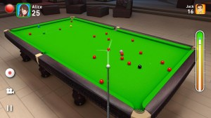 Android Real Snooker 3D Screen 2