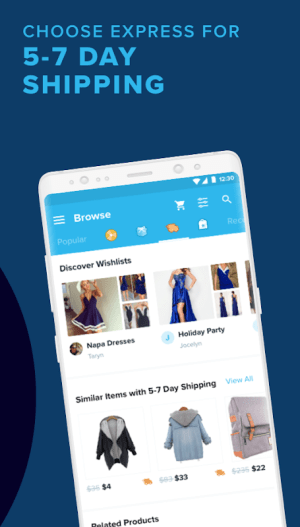 Android Wish - Where everything is affordable Screen 1