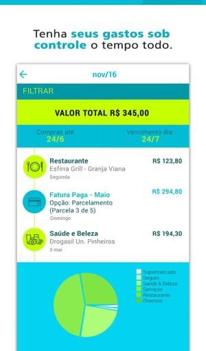 Android Cartão Mais! Screen 3