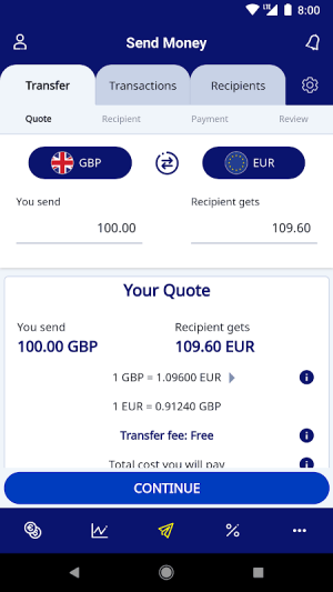 XE Currency Converter Pro 5.1.0 Screen 5