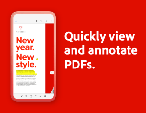 Android Adobe Acrobat Reader: PDF Viewer, Editor & Creator Screen 10