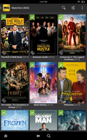 IMDb Movies & TV 2.3.2a Screen 4