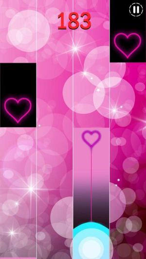 Piano Tiles 3 Heart Piano Tiles Pink 2.1.0 Screen 1