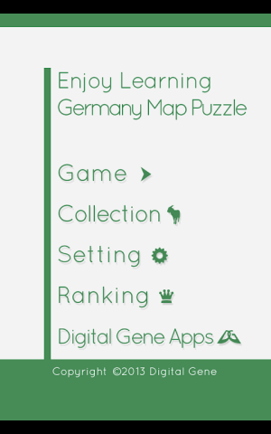 Enjoy Learning Germany Map Puzzle 3.3.1 Screen 12