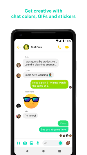Messenger – Text and Video Chat for Free 217.0.0.1.91 Screen 1