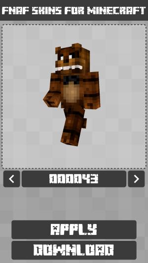 FNAF Skins for Minecraft PE 1.1.0.005 Screen 7