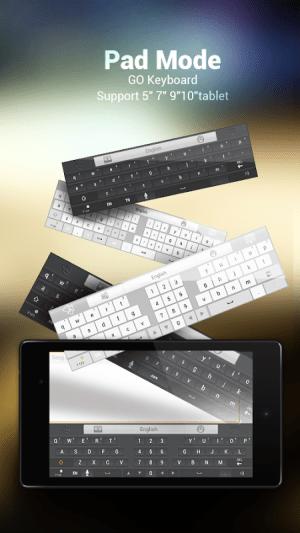 GO Keyboard - Emoji, Emoticons 2.30 Screen 3