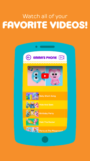 Android Play Phone for Kids - Fun educational babies toy Screen 4