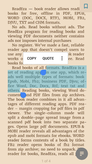 ReadEra - book reader pdf, epub, word 19.11.05+1020 Screen 14