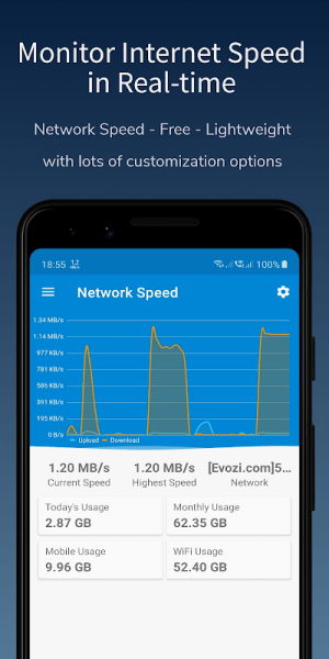 Speed Indicator - Network Speed - Monitoring Meter 2.3.5 Screen 6