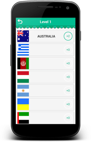 Logo Quiz - World Flags 1.0.6c Screen 3