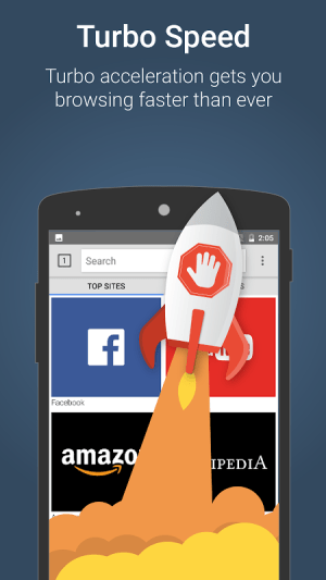 Android Ad Blocker Turbo Screen 1