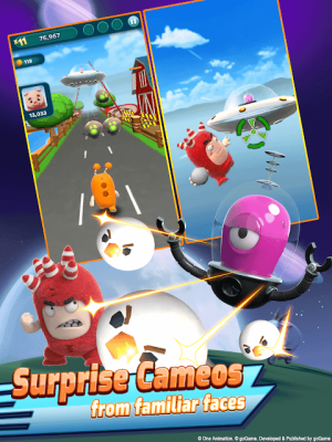 Android Oddbods Turbo Run Screen 5