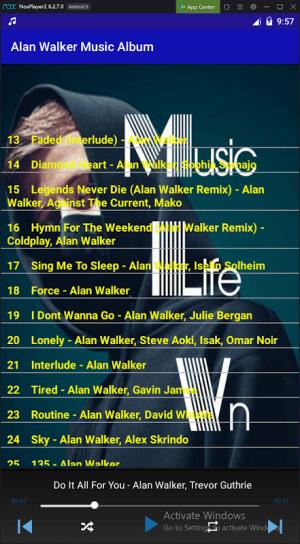 Alan Walker Music Album 1.5.1 Screen 2