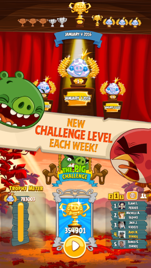 Android Angry Birds Screen 3