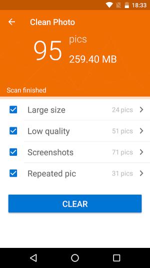 WinZip – Zip UnZip Tool 4.2.3c Screen 1